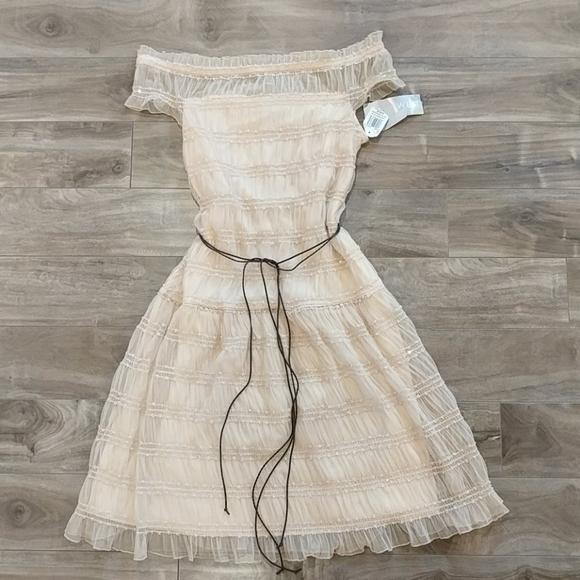 NINE WEST BNWT Cream Dress